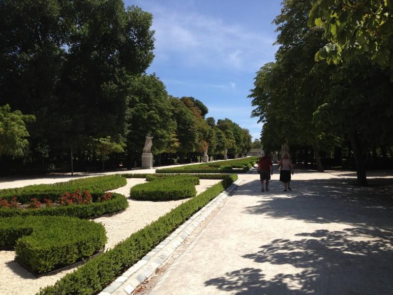 Interior do parque