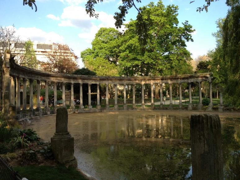 Ruínas romanas do Parc Monceau