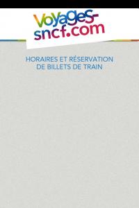 Tela 1 do SNCF-Voyages