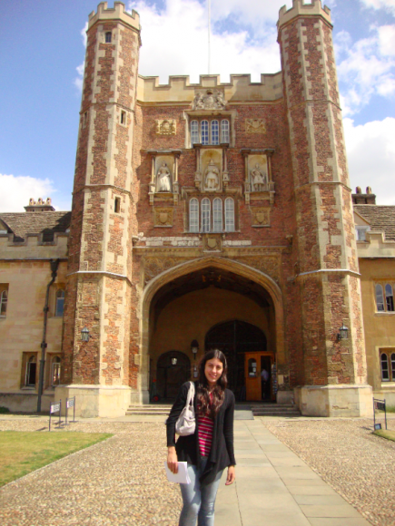Eu no Trinity College