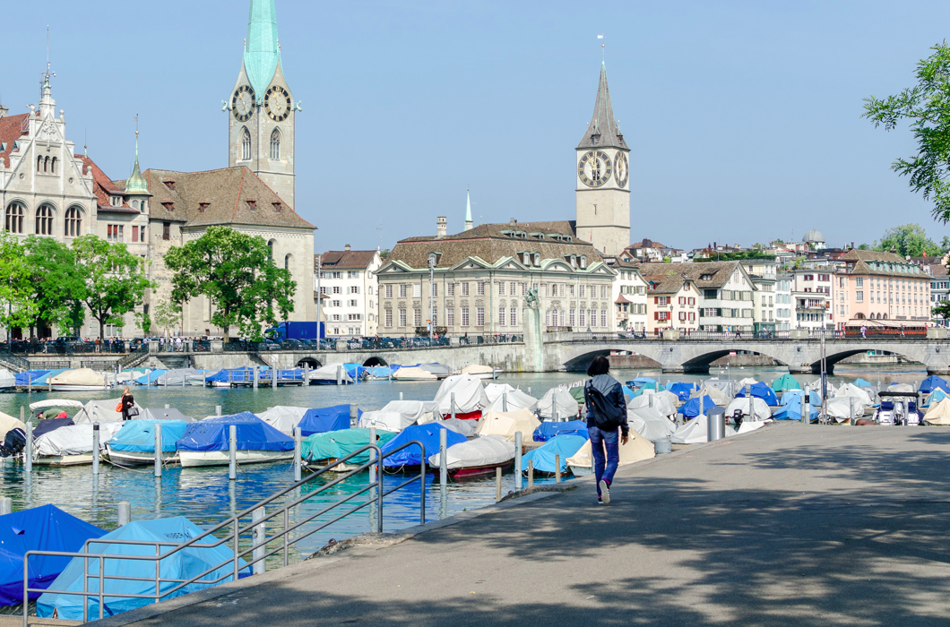 Lake Zurich- Zurich