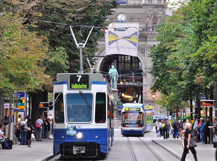 Public transportation- Zurich