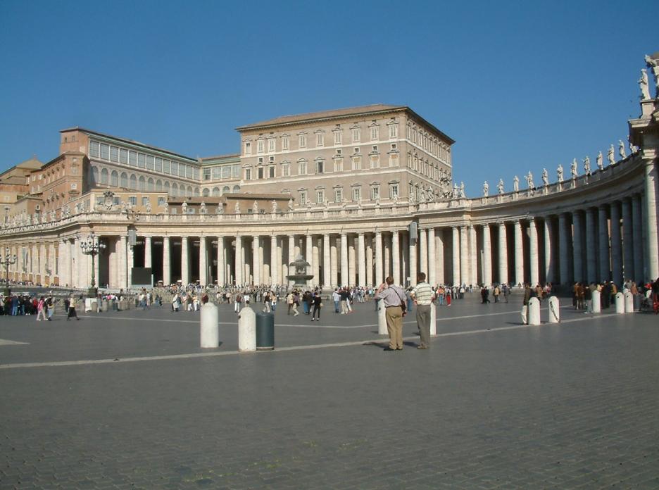 Piazza San Pietro- Roma