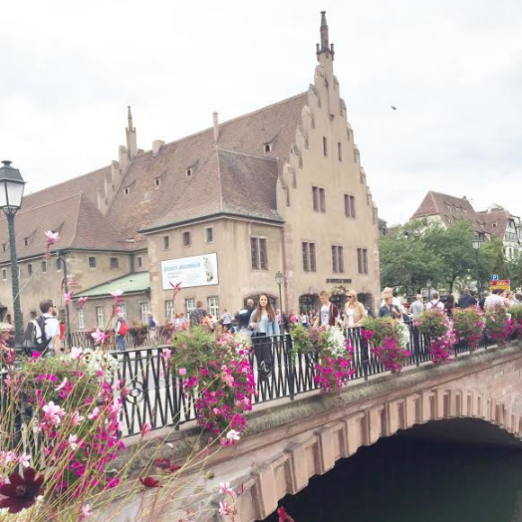 Flowers&Bridges 3- Strasbourg