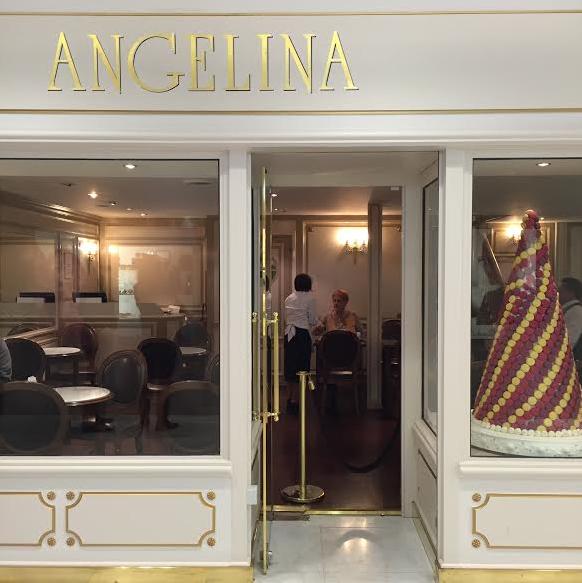 Angelina- melhores macarons de Paris