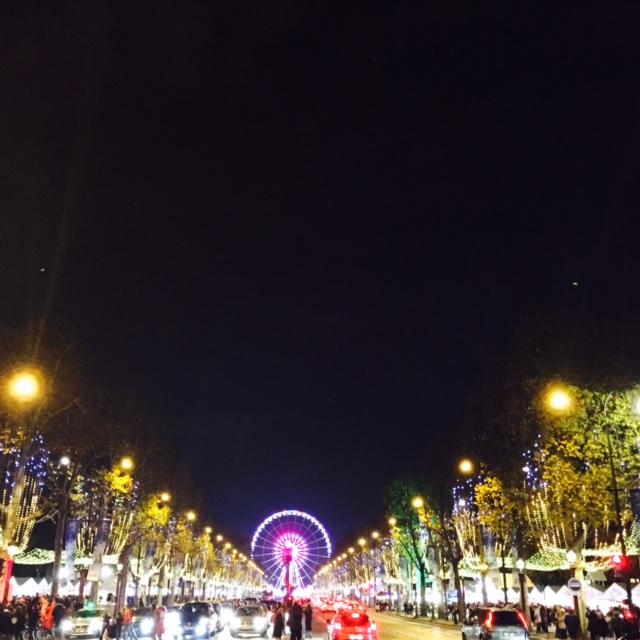 Christmas Market- Paris
