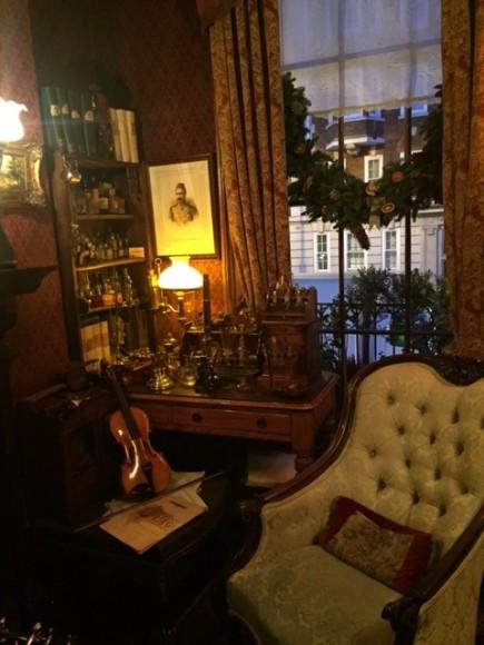 Sherlock Holmes Museum 10- London