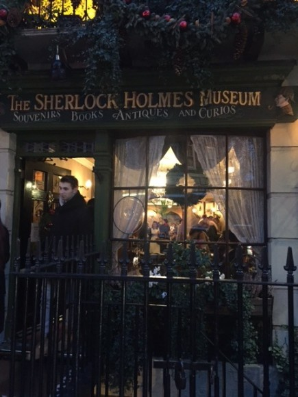 Sherlock Holmes Museum 2- London