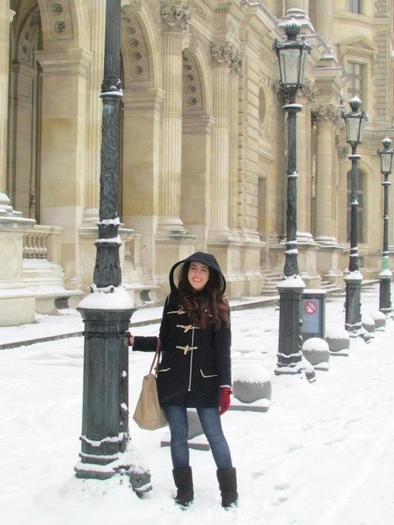 Winter 1- Paris