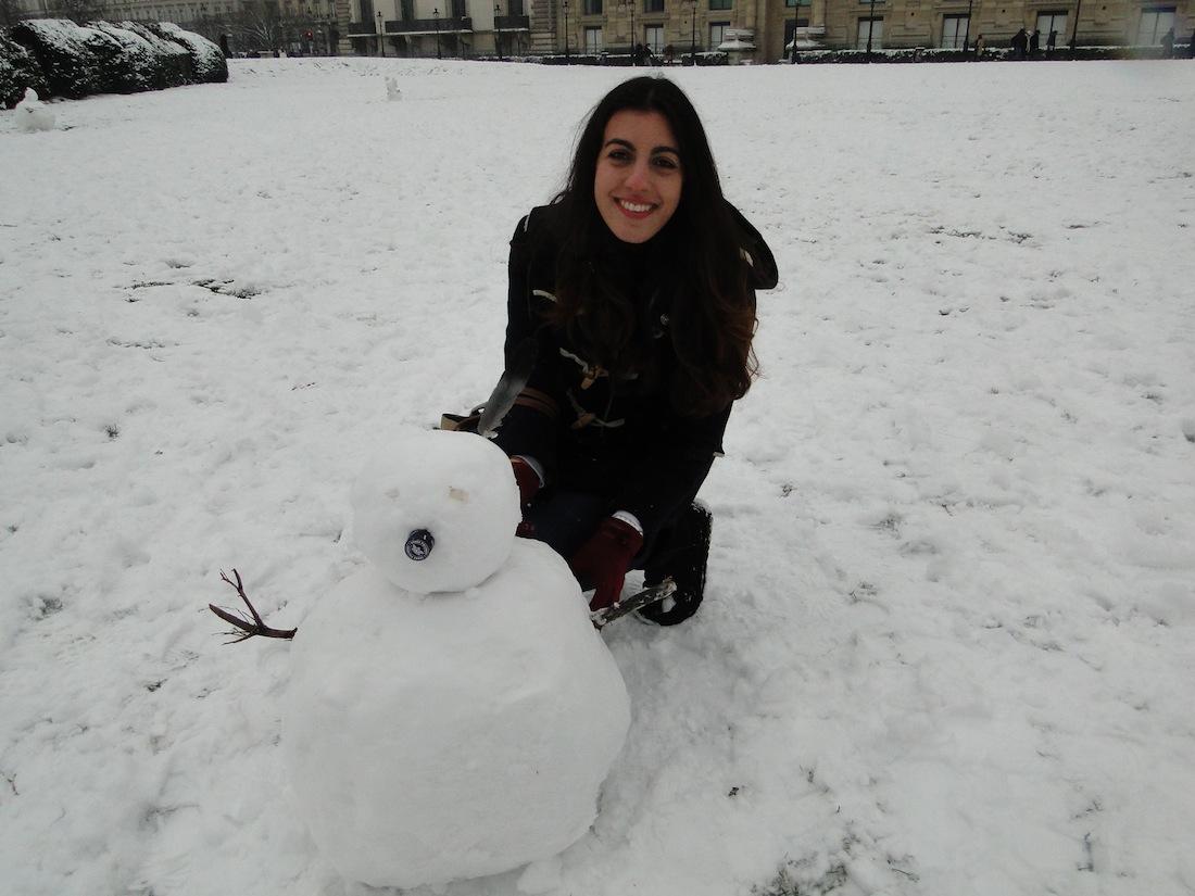 Winter 2- Paris