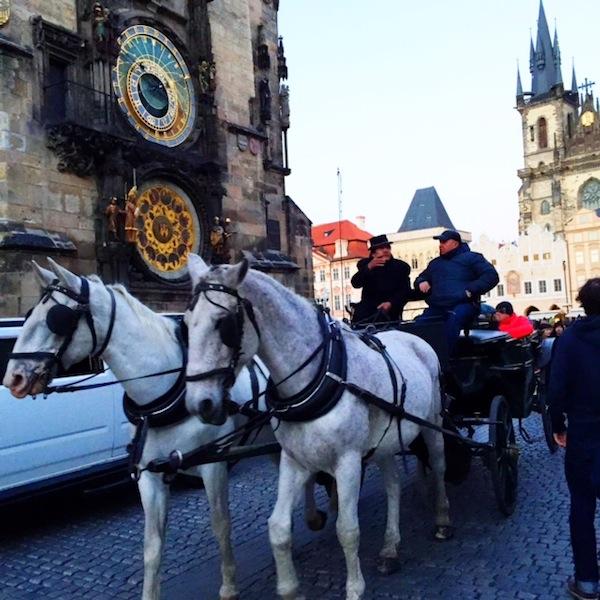 Carruagem- Praga