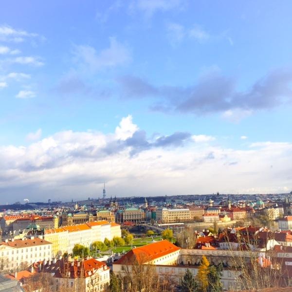Vista do alto- Praga