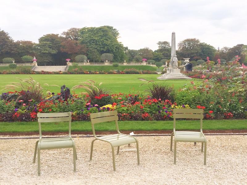 Jardin du Luxembourg Saint Germain- Mari and the City.