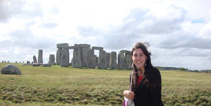 Londres Stonehenge- Mari and the City.