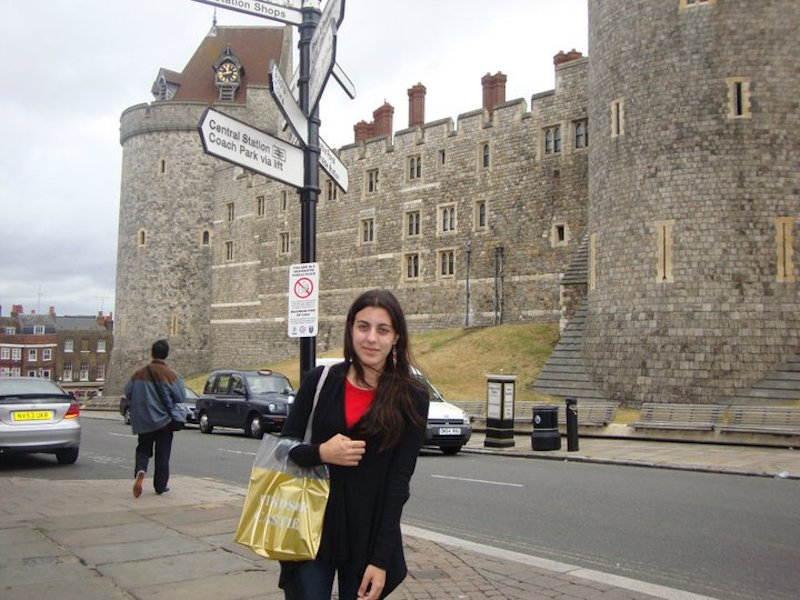 Londres Windsor- Mari and the City
