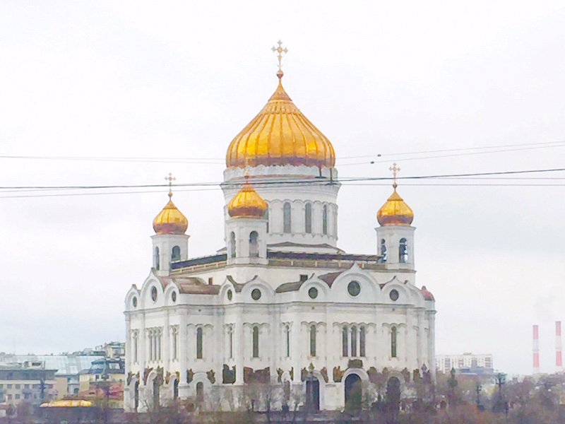 Cathedral of Christ The Savior- Moscou