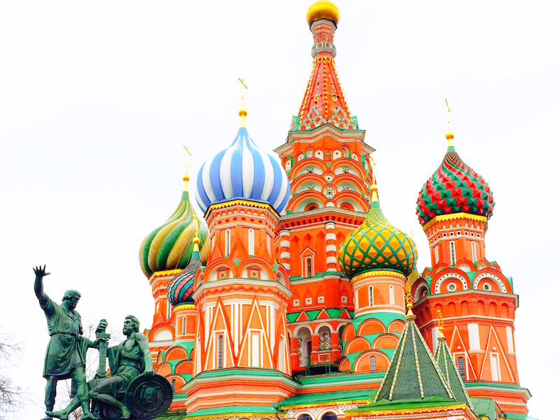 St. Basil's Cathedral- igrejas de Moscou