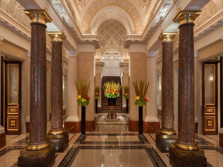 Fonte: Four Seasons Lion Hotel Palace St. Petersburg.