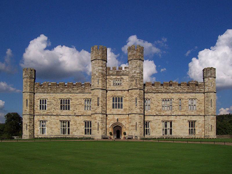 Leeds Castle- castelos perto de Londres