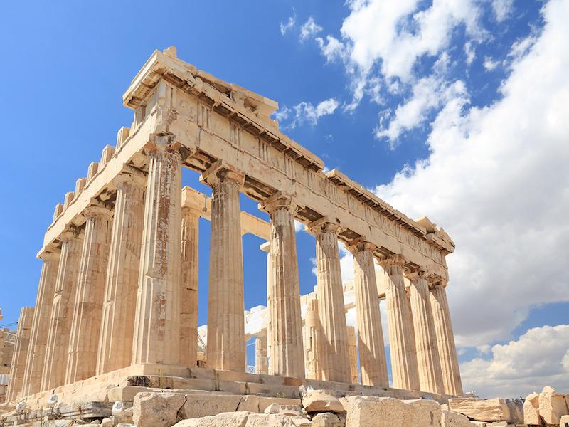 paisagens mais lindas da Grécia- Parthenon