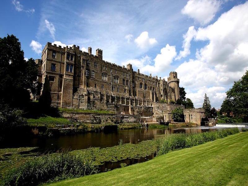Warwick Castle- castelos perto de Londres
