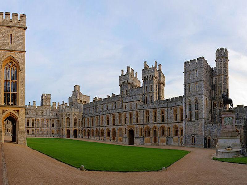 Windsor Castle- castelos perto de Londres