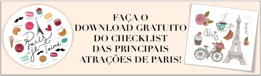 Banner checklist Paris