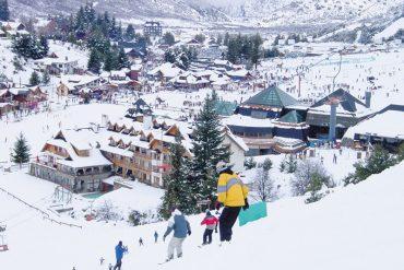Destinos para esquiar na América do Sul