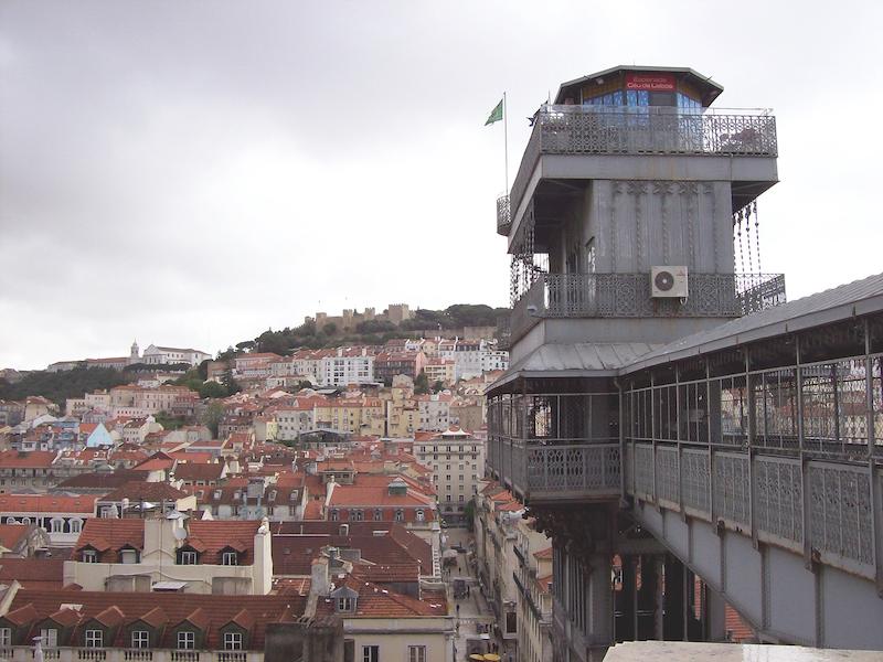 Elevador Santa Justa- imperdíveis de Lisboa