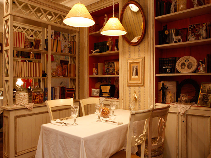 Mari Vanna- restaurantes em Moscou