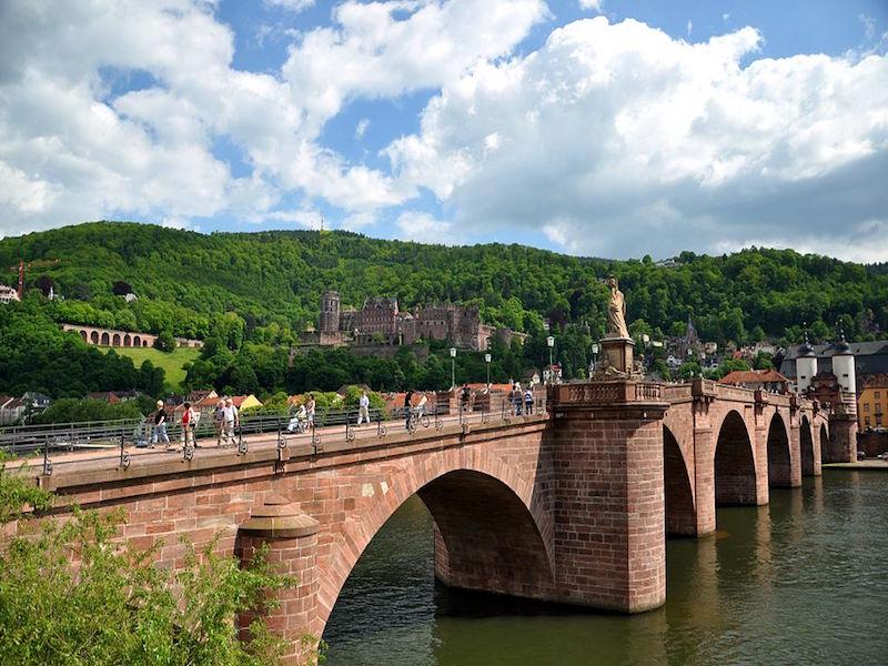 Heidelberg- cidades da Alemanha