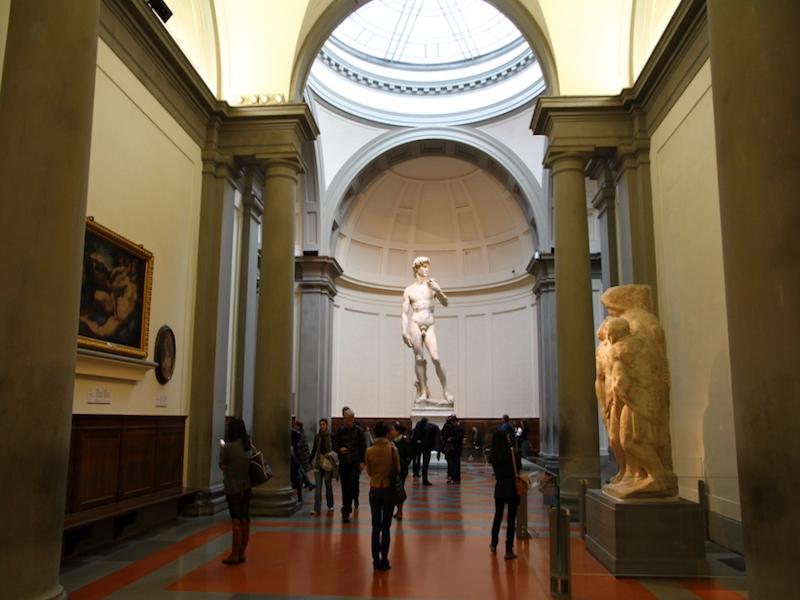 Estátua de Davi- o que fazer em Florença