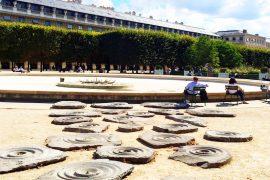 Jardin du Palais Royal- atrações escondidas de Paris