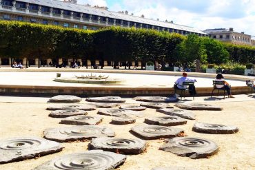 Jardin du Palais Royal- atrações escondidas de Paris
