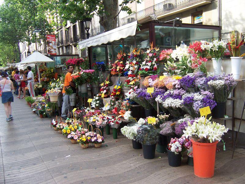 La Rambla- o que fazer em Barcelona