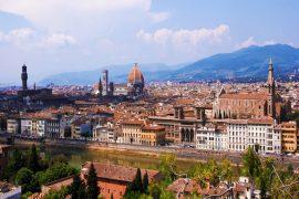 Piazzale Michelangelo- o que fazer em Florença