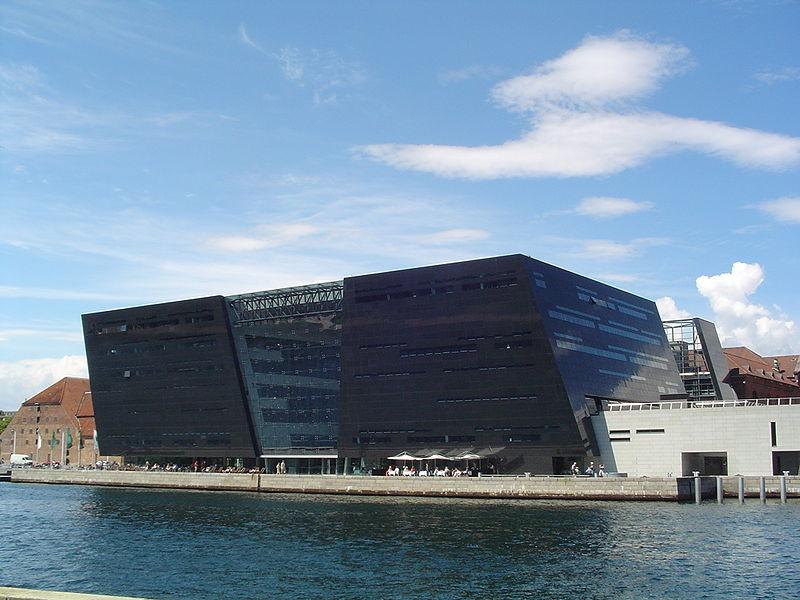 black diamond- arquitetura de copenhagen