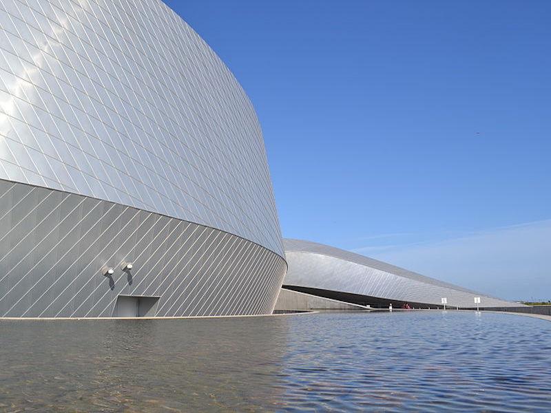 National Aquarium Denmark- arquitetura de Copenhagen