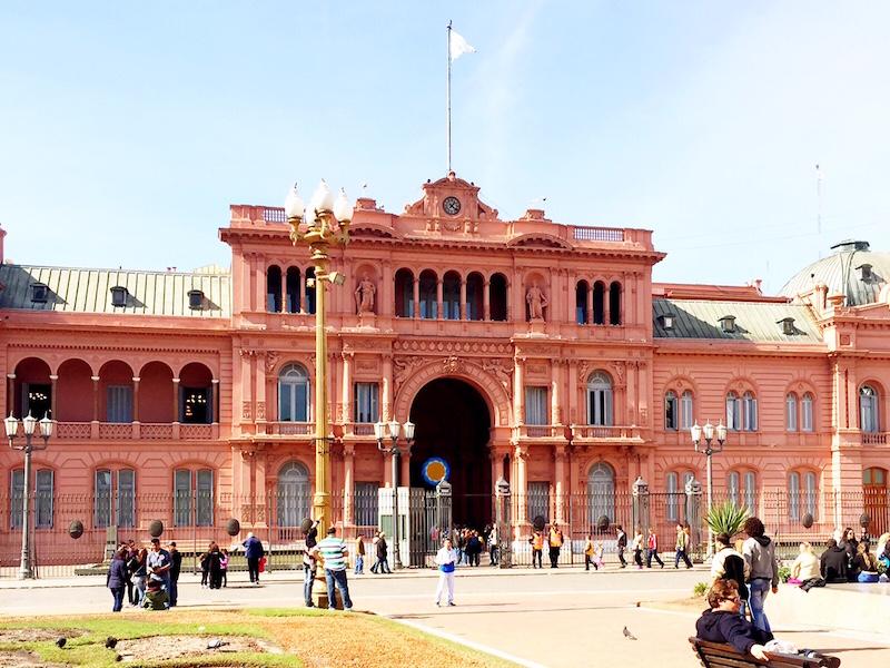 Casa Rosada- o que fazer em Buenos Aires