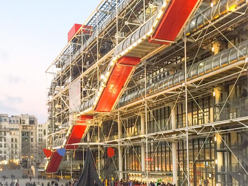Georges Pompidou- museus de Paris