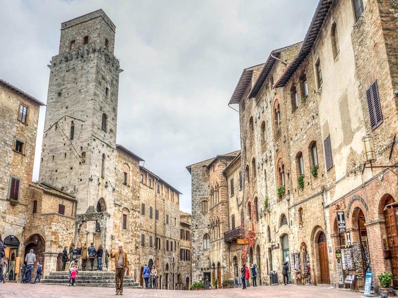 San Gimignano- cidades da Toscana