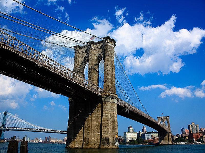 Ponte do Brooklyn- atrações de Downtown Manhattan
