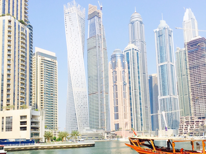 Dubai Marina- o que fazer em Dubai