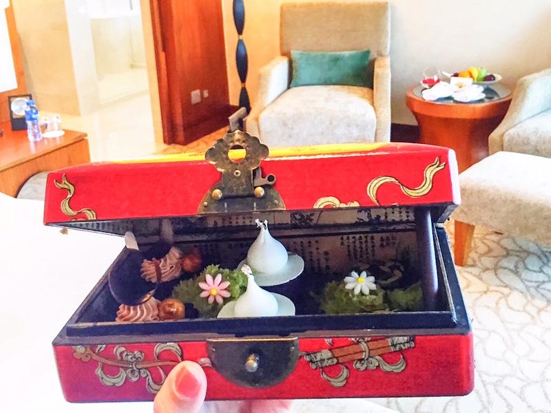 caixa de chocolates- Mandarin Oriental Macau