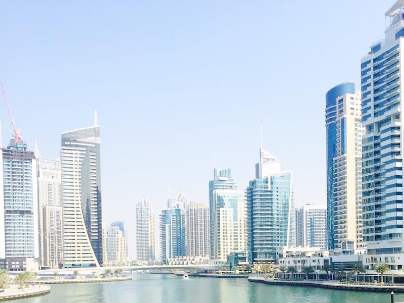 Marina de Dubai- prédios de Dubai