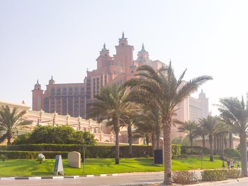 The Palm- o que fazer em Dubai