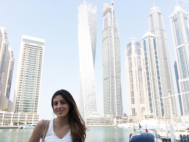 Infinity Tower- prédios de Dubai