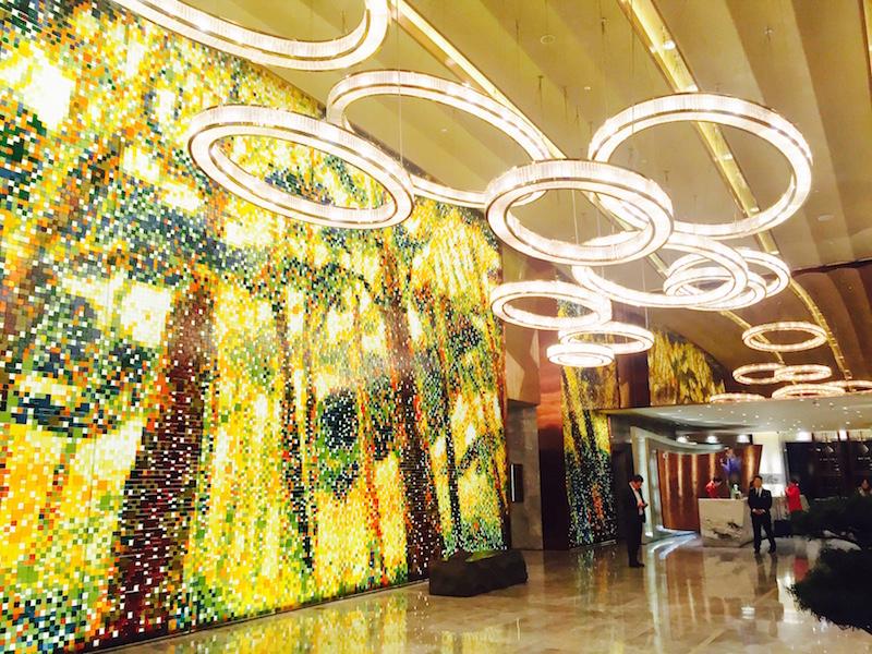 Lobby- Mandarin Oriental Pudong