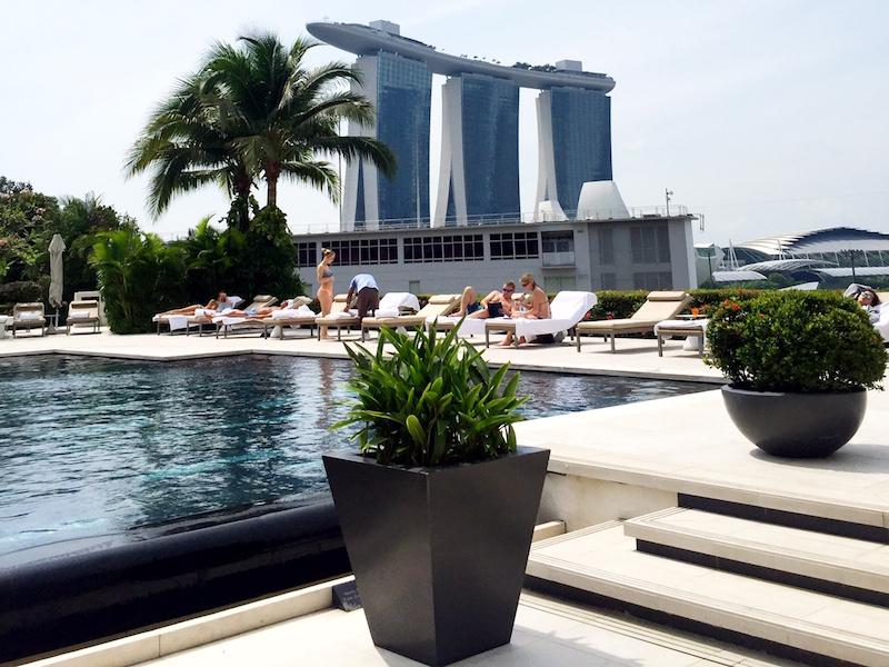 Fachada- Mandarin Oriental Singapore