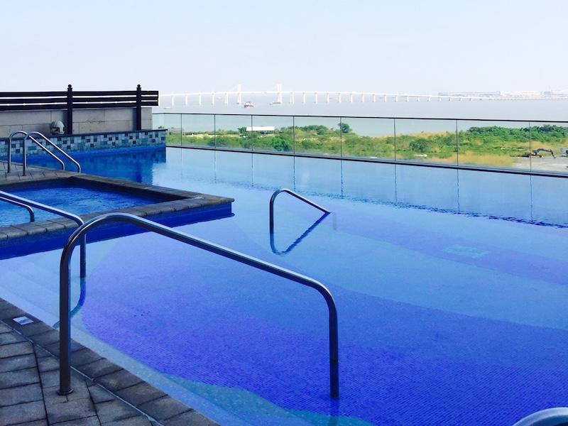 piscina- Mandarin Oriental Macau